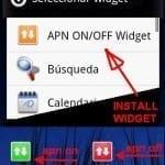 APN On/Off Widget