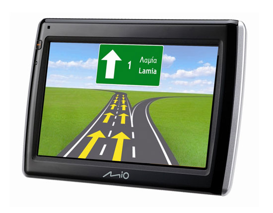 GPS Mio Moov Spirit