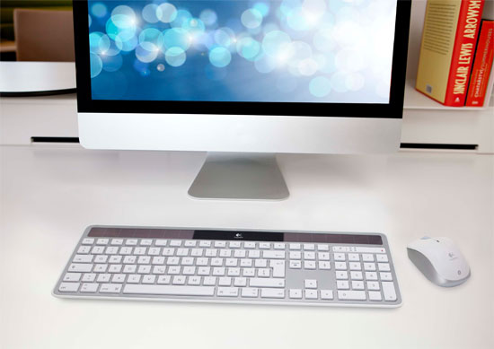 Πληκτρολόγιο Logitech Wireless Solar K750 για Mac