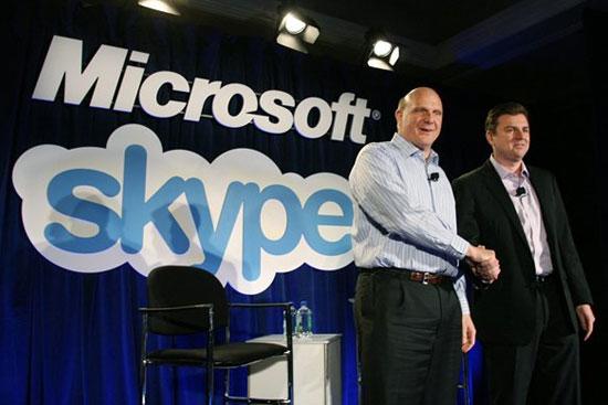 Η Microsoft εξαγόρασε το Skype
