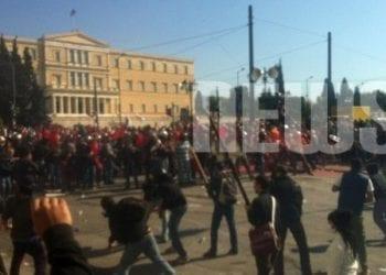 Το απόλυτο χάος στην Αθήνα