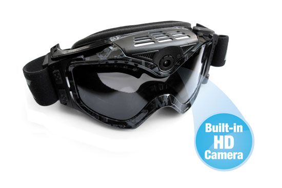 Μάσκα με ενσωματωμένη HD κάμερα