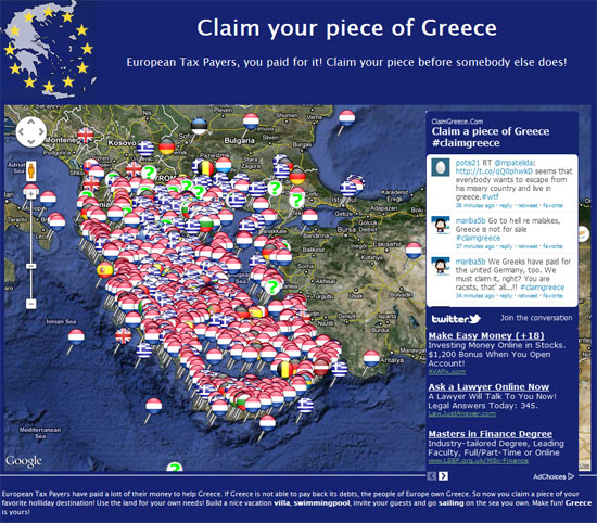 Claim Your Piece of Greece