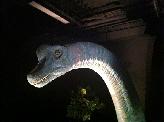 Δεινόσαυροι στο The Mall Athens
