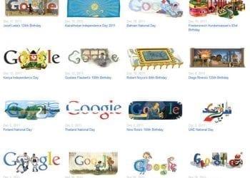 Doodles και Gift Shop από την Google