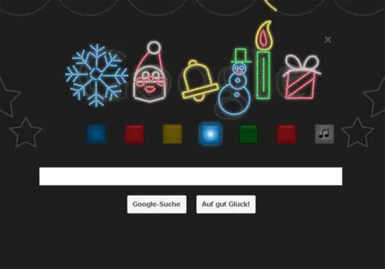 Το Χριστουγεννιάτικο Google Doodle