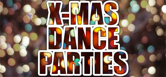 Χριστούγεννα στην Αθήνα; Τα καλύτερα Dance Parties για να περάσεις σούπερ!
