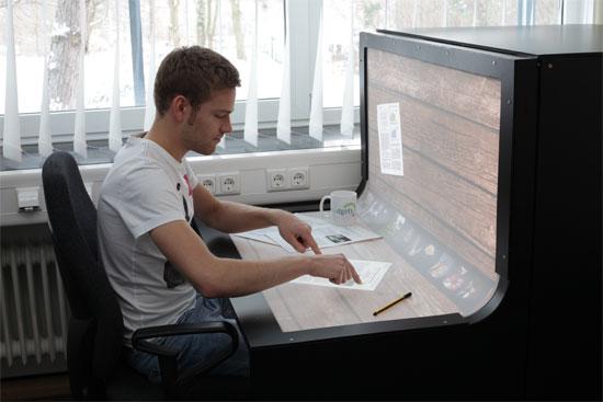 Bend Desk - Δείτε πώς θα είναι το γραφείο του μέλλοντος!