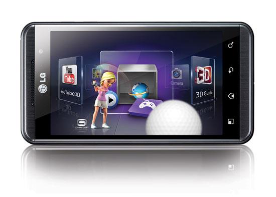 Νέες λειτουργίες στο LG Optimus 3D μετά το update σε Android 2.3 Gingerbread