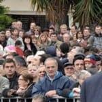 Αποδοκιμασίες κατά Παπούλια στον αγιασμό των υδάτων στην Χαλκίδα