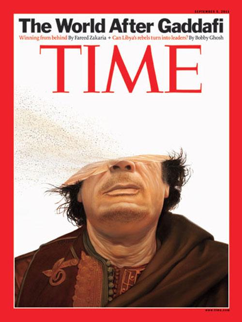 Time - Muammar Gaddafi