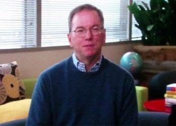 Ο Eric Schmidt στο Google Travel Forum