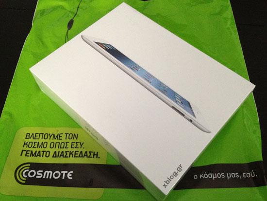 Το νέο iPad έφτασε στο XBLOG.gr, Ξεκινάμε με το Unboxing Video!