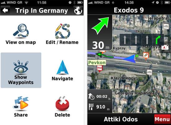 CitisNAV Full Europe, Πλήρης πλοηγός για iPhone από ελληνική εταιρία πληροφορικής