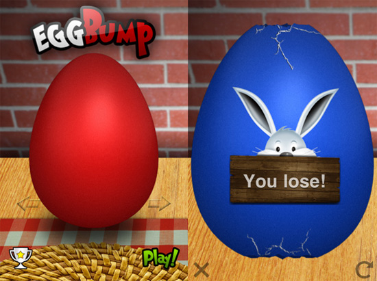 Egg Bump iPhone App