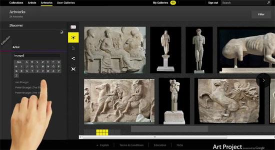 Τα εκθέματα των Μουσείων της Ακρόπολης, Κυκλαδικής Τέχνης και Μπενάκη στο Google Art Project!