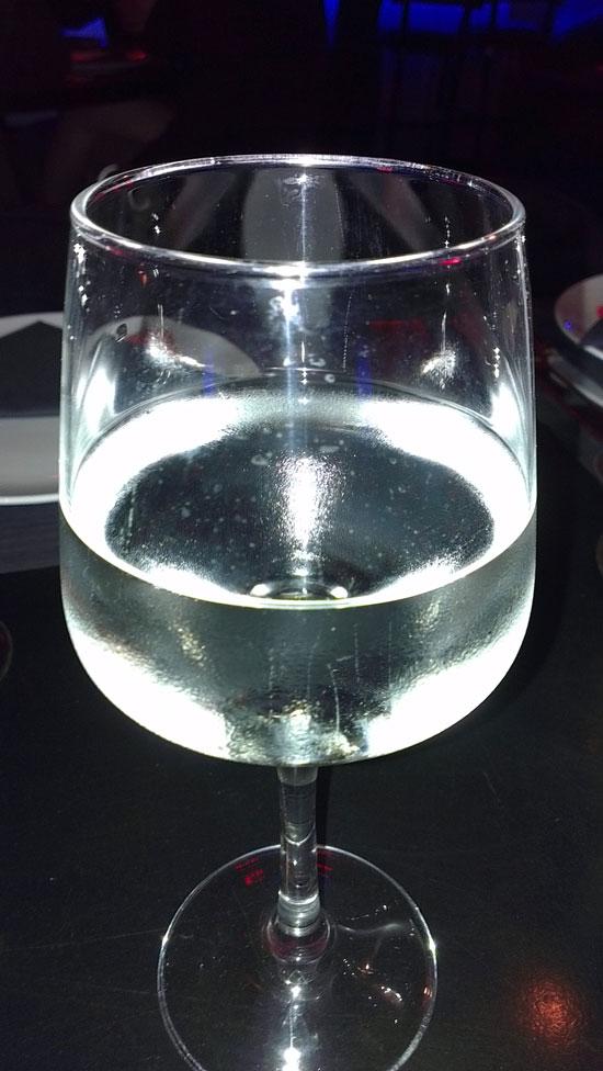 Ποτήρι νερό, Φωτο από το HTC One X