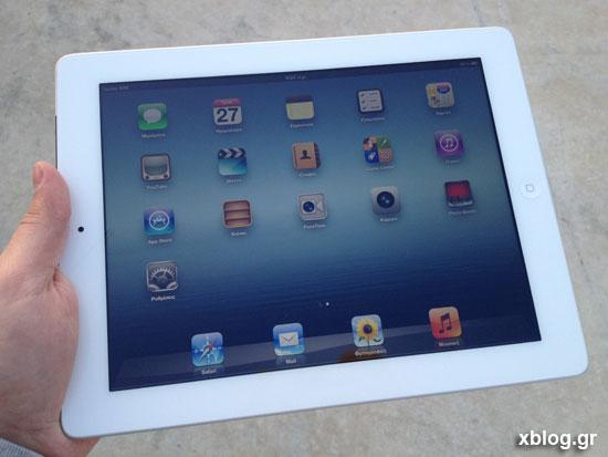 Νέο iPad, xblog.gr hands on