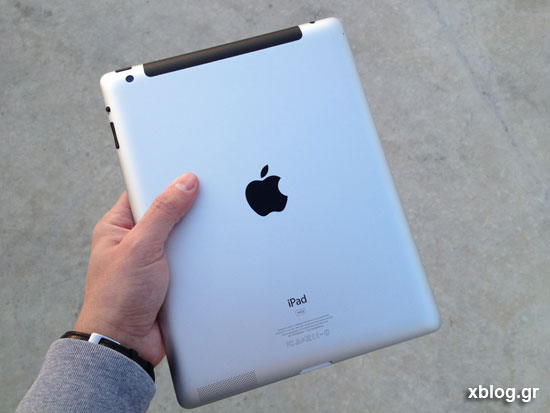 New iPad xblog.gr hands on