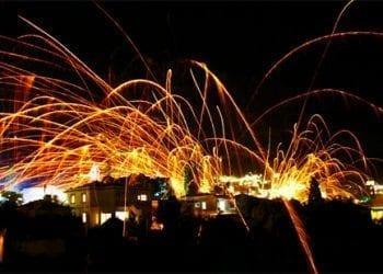 Ρουκετοπόλεμος, Χίος