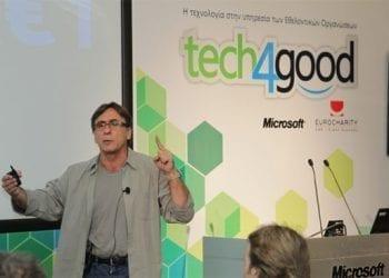 Ο brand strategist Peter Economides στην εκδήλωση Tech4Good