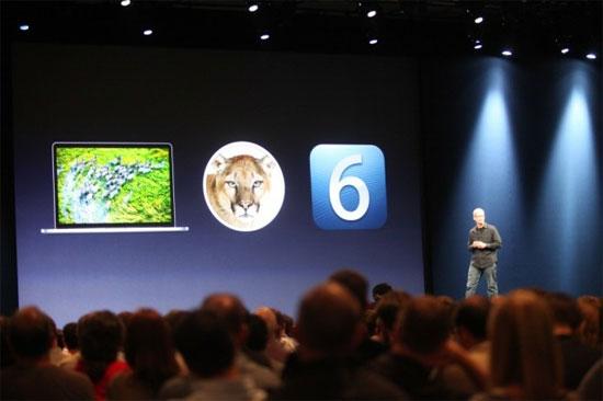 WWDC 2012: Η Apple παρουσίασε iOS 6, Mac OS X Mountain Lion και νέο MacBook Pro!