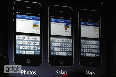 Apple iOS Facebook
