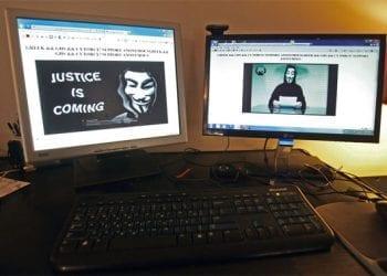 Anonymous, Επίθεση στο Υπουργείο Οικονομικών