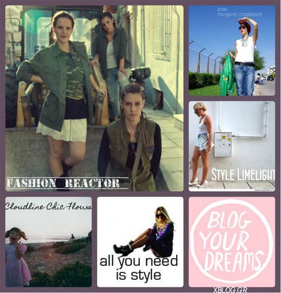 Ελληνικά Fashion Blogs