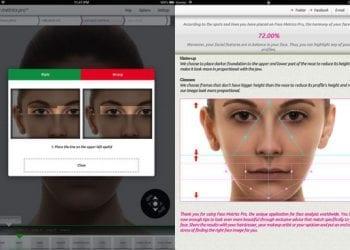 Face Metrics Pro HD για iPad: 7 κωδικοί ακόμη για δωρεάν download!