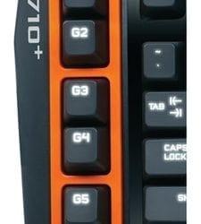 Gaming πληκτρολόγιο Logitech G710+