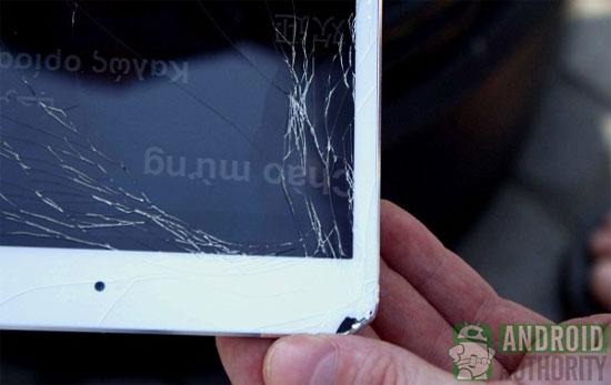 iPad Mini drop test