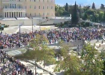 LIVE Stream: Συγκέντρωση στο Σύνταγμα [Απεργία 6/11/2012]