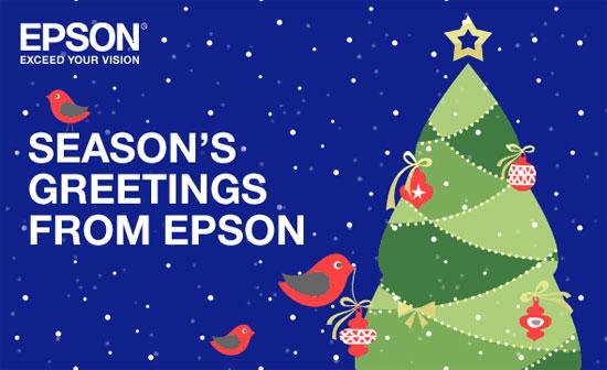 Ευχετήρια κάρτα Epson