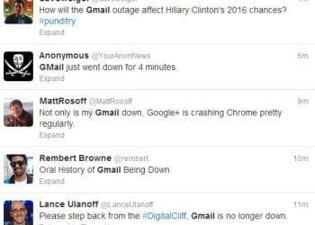 Διακοπή λειτουργίας Gmail