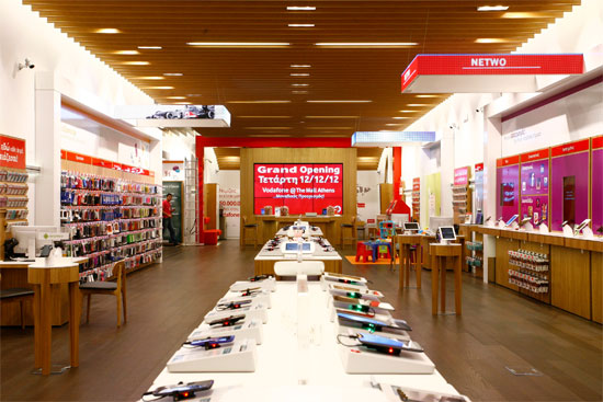Νέο Vodafone Store στο The Mall Athens