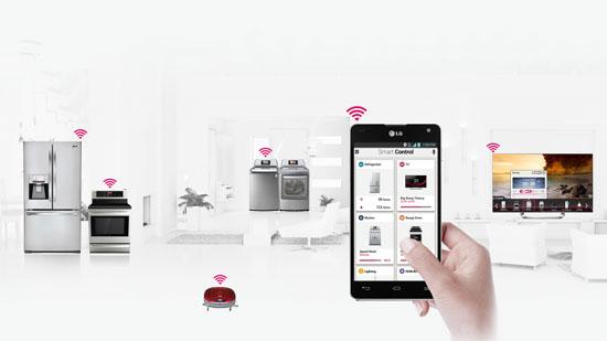 LG Smart Home, CES 2013