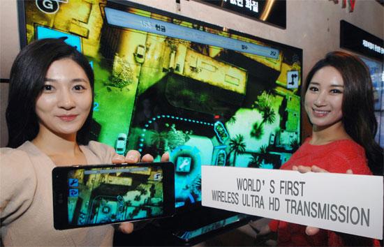 LG: Παρουσιάζει την πρωτοποριακή τεχνολογία Wireless Ultra HD Transmission στο MWC 2013