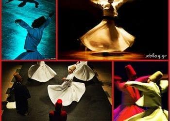 Οι περιστρεφόμενοι δερβίσηδες στο Θέατρο Badminton