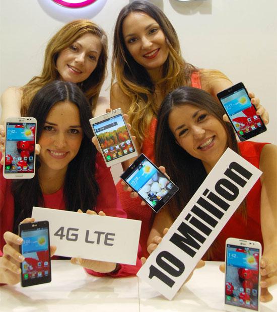 Η LG πούλησε 10 εκατ. LTE smartphones