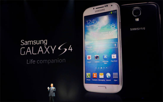 Samsung Galaxy S4 παρουσίαση