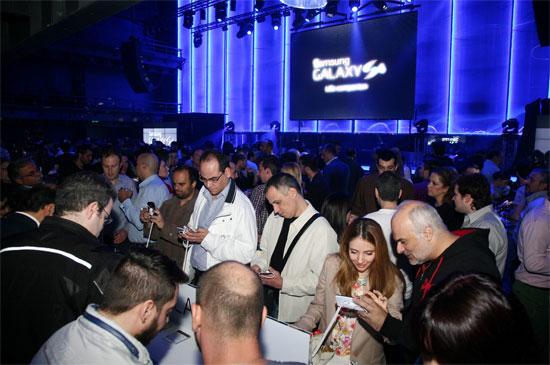 Samsung Galaxy S4 event