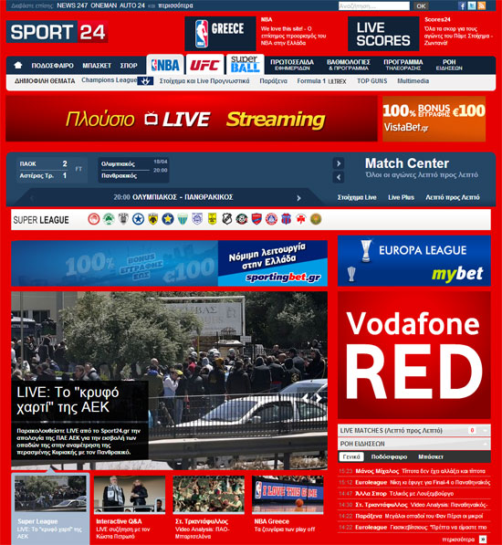 Vodafone Sport24.gr