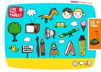 FunTwoThree, Online προορισμός για παιδιά και γονείς