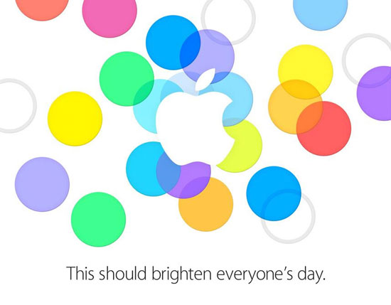 Apple πρόσκληση event iPhone 5S