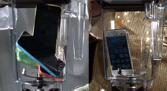 iPhone 5S και 5C στο μπλέντερ