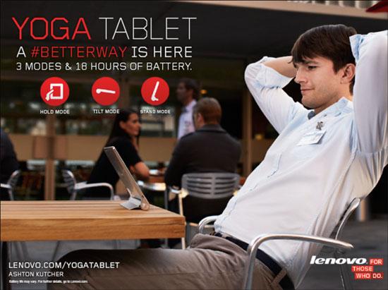 Lenovo Multimode Yoga Tablet