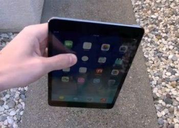 iPad mini Retina drop test