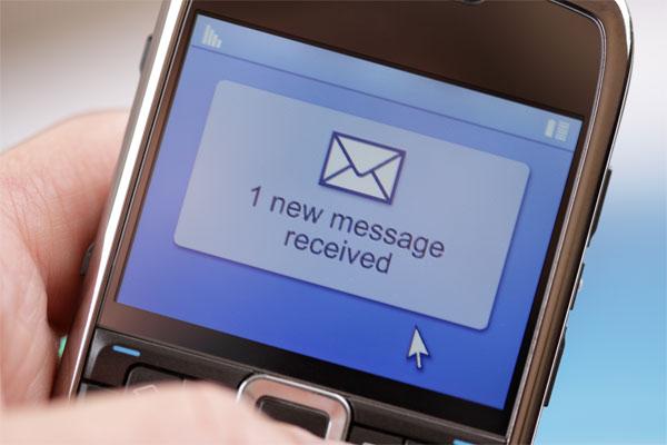 Γραπτό μήνυμα SMS