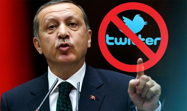 Ο Ερντογάν έκοψε την πρόσβαση στο Twitter στην Τουρκία!